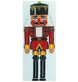 Julia Red &amp; Yellow Nutcracker King - Large Rollup <br />