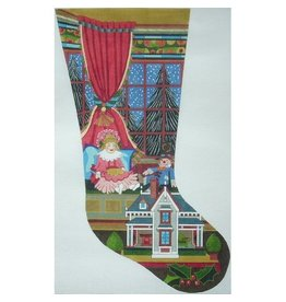Peter Ashe Victorian Doll stocking