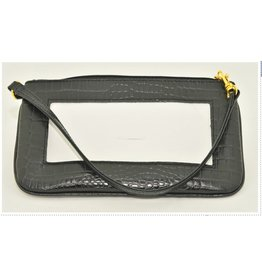 Colonial Needle Wrist Bag / Alligator Black<br />