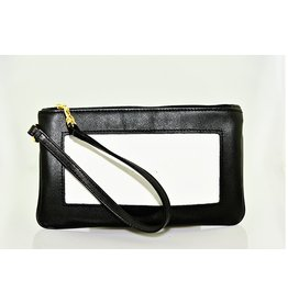 Colonial Needle Wrist Bag/ Black<br />