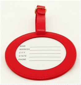 Colonial Needle ID Tag/  - Red