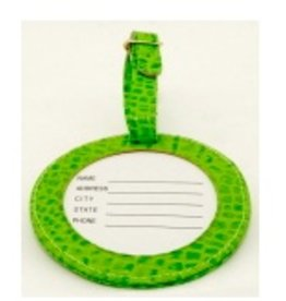 Colonial Needle ID Tag/alligator green<br />