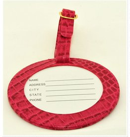 Colonial Needle ID Tag / Alligator Magenta<br />