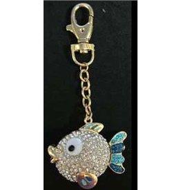 Elizabeth Turner Scissors Bling 2-d  - Fish