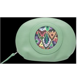 Colonial Needle Cosmetic Bag -  Green<br />