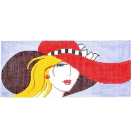 Colonial Needle Lady with the Red Hat<br />