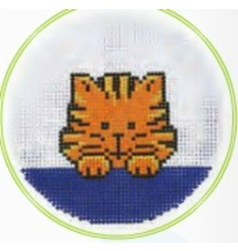 """Colonial Needle Tiger 3"""" Round"""