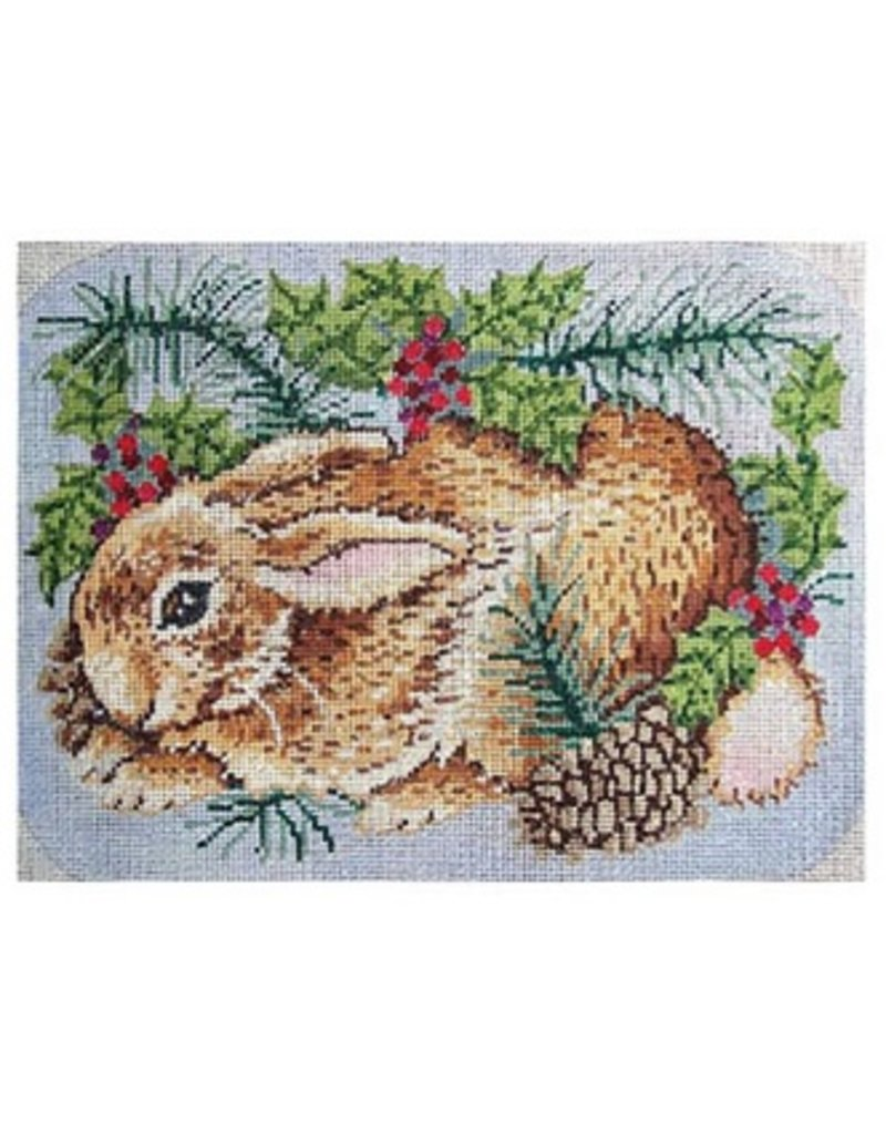 Alice Peterson Woodland Rabbit<br />9&quot; x 12.5&quot;