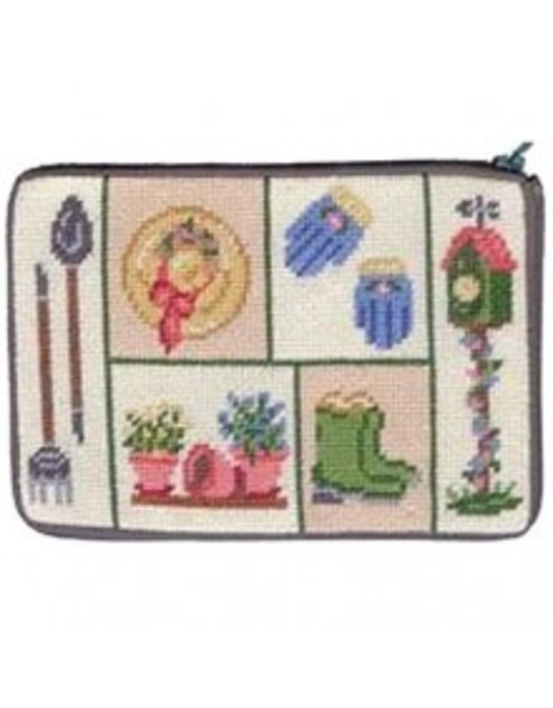 Alice Peterson Garden Patchwork Cosmetic Bag