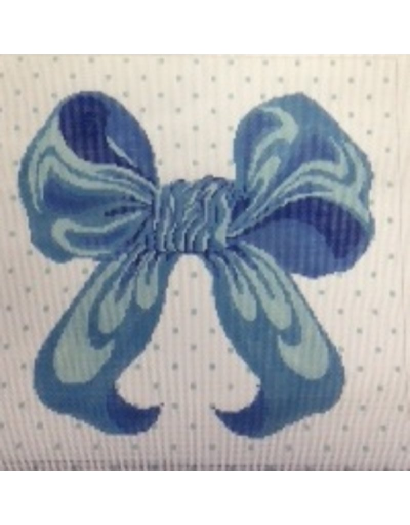 All About Stitching Blue Bow<br />