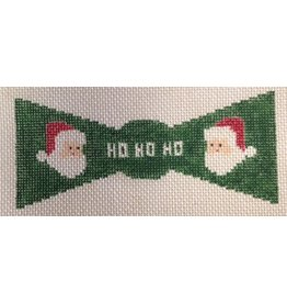 GD Design Bow Tie - Santa Claus w/green background