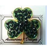 Accoutrement Designs Shamrock - Magnet - large<br />***discontinued**