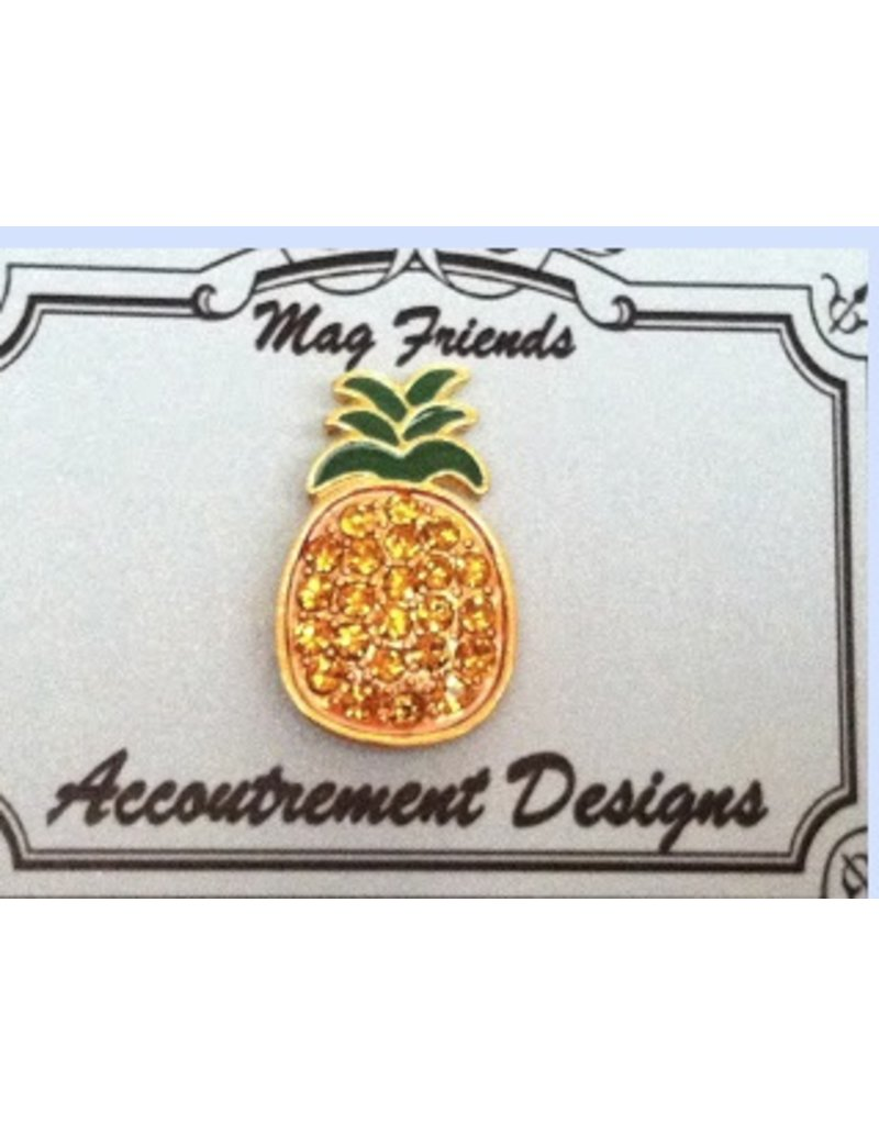 Accoutrement Designs Pineapple  - Magnet