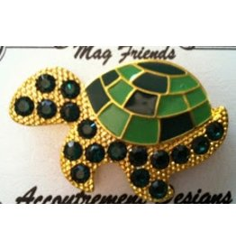 Accoutrement Designs Large green turtle - magnet