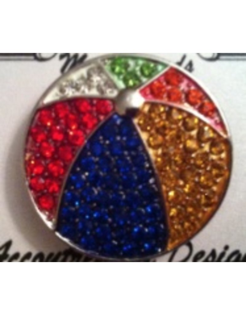 Accoutrement Designs Beach Ball - Magnet - large