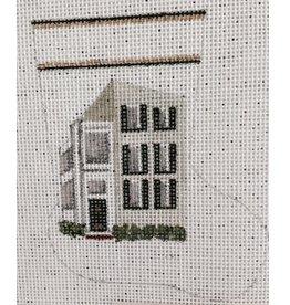 Martha Charleston Single House Mini Stocking - ornament