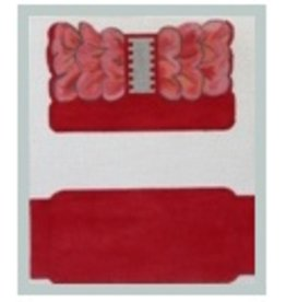 Julie Mar Red Bow Clutch for Smart/I-phone