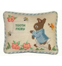 Canvas Connection Peter Rabbit Tooth Fairy Pillow<br />