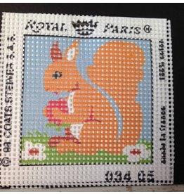 Fleur de Paris Royal Paris kit - Squirrel<br />6&quot; x 6&quot;