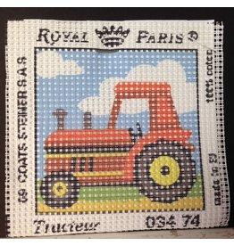 Fleur de Paris Royal Paris kit - Tractor<br />6&quot; x  6&quot;