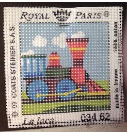 Fleur de Paris Royal Paris Kit - Train Engine<br />6&quot; x 6&quot;