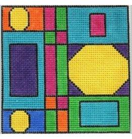 Julie Mar Geometric Box - Yellow Stop