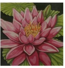 Alice Peterson Water Lily - Pink<br />14&quot; x 14&quot;