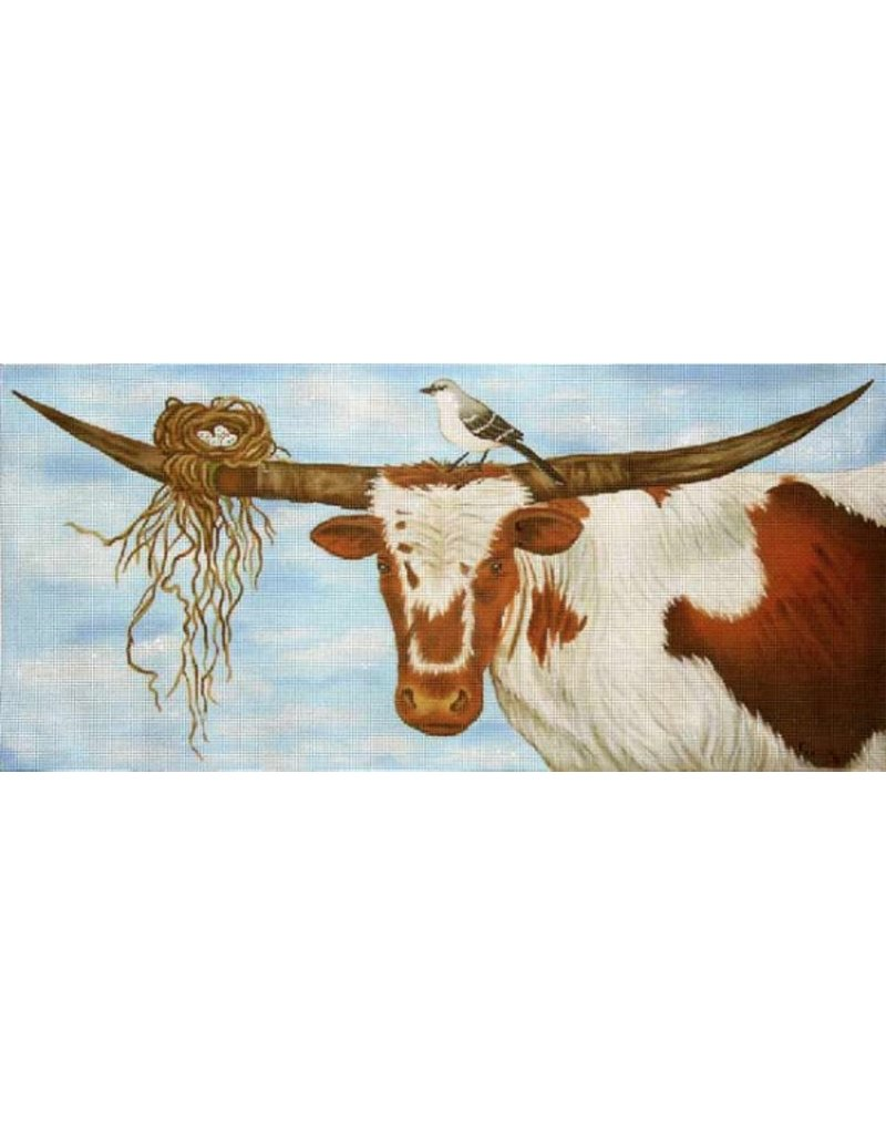 """A Lazy Day in Texas<br /> 22"""" x 10"""""""