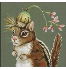 Melissa Shirley Letttie - squirrel<br />
