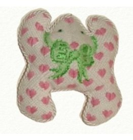 Canvas Connection Pink Hearts Mini Frog<br />