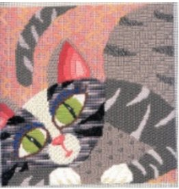 Pajamas &amp; Chocolate Grey Kitty w/Stitch Guide<br />