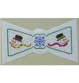 Julia Bow Tie - Snowmen