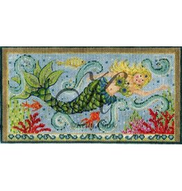 Colonial Needle Swimming Mermaid<br />