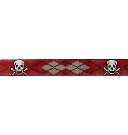 Elizabeth Turner Skull & Crossbones, Red Arygle belt