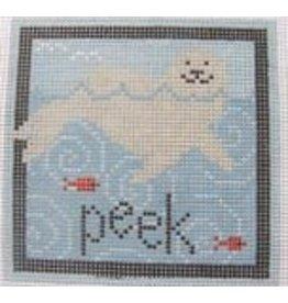 Pippin Studio Peek - Coaster<br />4.5&quot; x 4.5&quot;