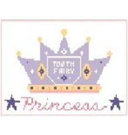 Kathy Schenkel Princess Toothfairy Pillow<br />6&quot; x 4&quot;