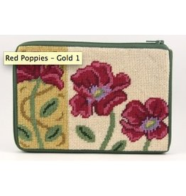 Alice Peterson Red Poppies/Gold <br />