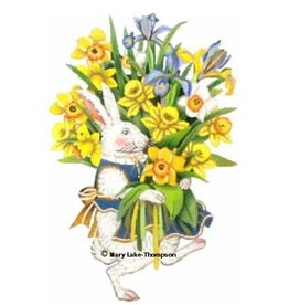 Melissa Shirley Spring Bunny<br />10&quot; x 7&quot;