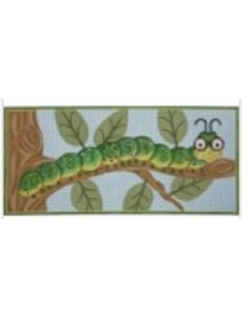 Alice Peterson Ten-Inch Worm w/Numbers<br />18&quot;x8.5&quot;