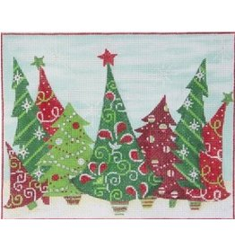 Alice Peterson Crazy Christmas Trees<br />