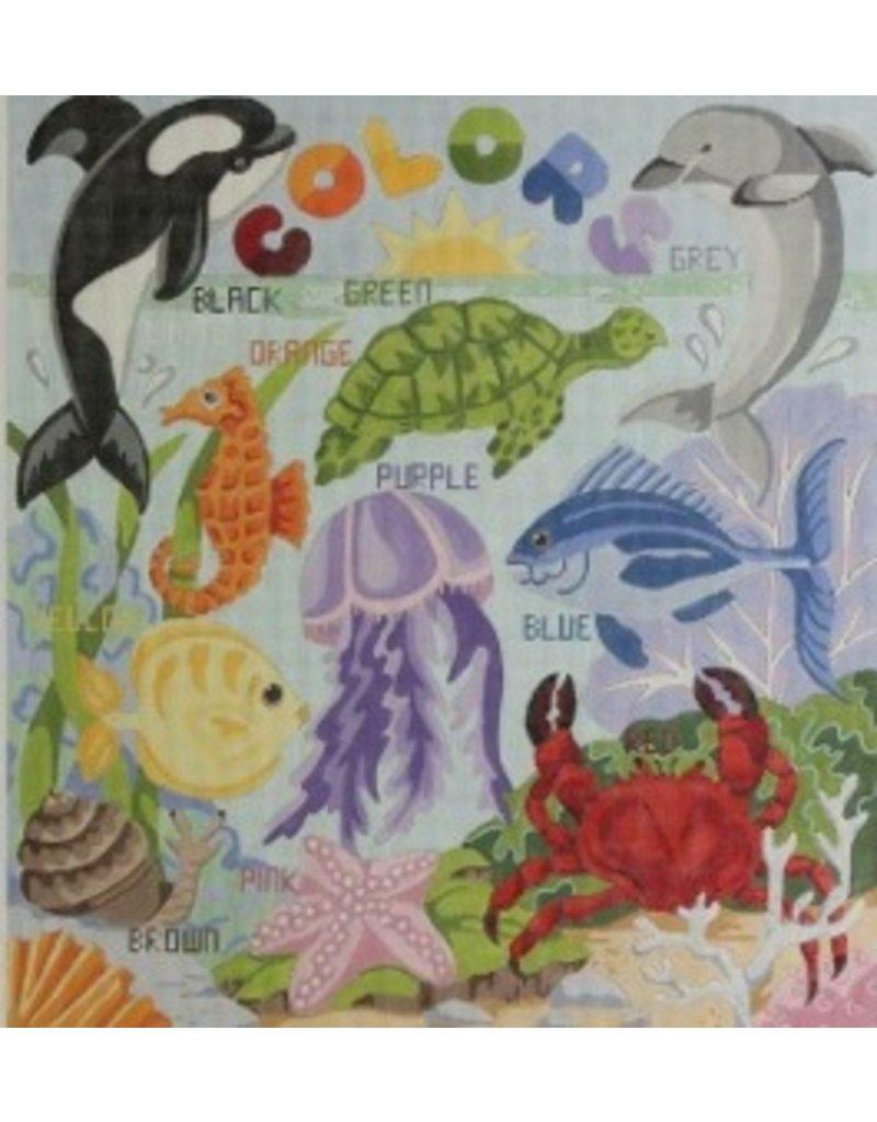 Alice Peterson Colors Under the Sea<br />18&quot;x20&quot;