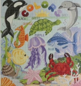 Alice Peterson Colors Under the Sea<br />
