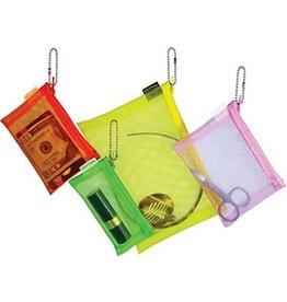 Walker Dunham Yellow mesh bag 5x7