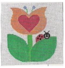 Stitch-It Tulip w/Lady Bug - <br />Starter Kit
