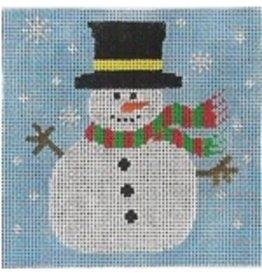 Stitch-It Snowman<br />8&quot; x 8&quot;