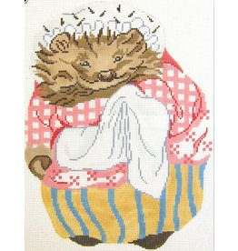 Colonial Needle Mrs Tiggy Winkle ornament<br />4.5&quot; x 6&quot;