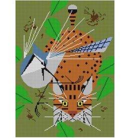Treglown Charley Harper&#039;s &quot;Blue Jay Patrol&quot;<br />11&quot; x 15&quot;