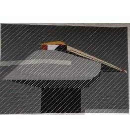 Charley Harper&#039;s Pelican / Downpour<br />20&quot; x 14&quot;
