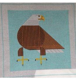 Treglown Charley Harper&#039;s Bald Eagle<br />12&quot; x 12&quot;