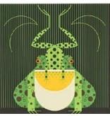 Treglown Charley Harper&#039;s &quot;Frog Eat Frog&quot;<br />13.5&quot; x 13.5&quot;